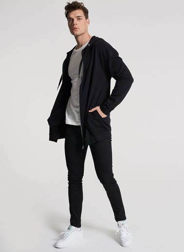 Pi π Kapişonlu Sweatshirt Siyah
